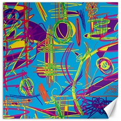 Colorful abstract pattern Canvas 12  x 12