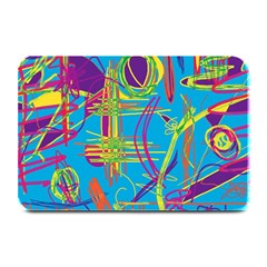 Colorful abstract pattern Plate Mats