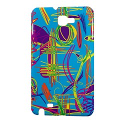 Colorful abstract pattern Samsung Galaxy Note 1 Hardshell Case