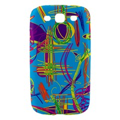 Colorful abstract pattern Samsung Galaxy S III Hardshell Case