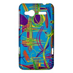 Colorful abstract pattern HTC Radar Hardshell Case