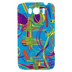 Colorful abstract pattern HTC Sensation XL Hardshell Case