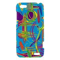 Colorful abstract pattern HTC One V Hardshell Case