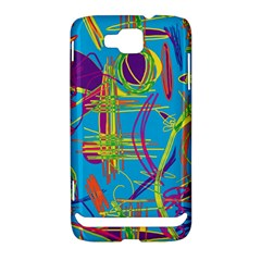 Colorful abstract pattern Samsung Ativ S i8750 Hardshell Case
