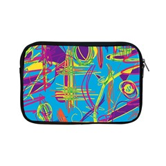 Colorful abstract pattern Apple iPad Mini Zipper Cases