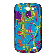 Colorful abstract pattern Samsung Galaxy Express I8730 Hardshell Case
