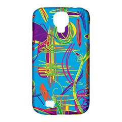 Colorful abstract pattern Samsung Galaxy S4 Classic Hardshell Case (PC+Silicone)