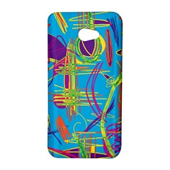 Colorful abstract pattern HTC Butterfly S/HTC 9060 Hardshell Case