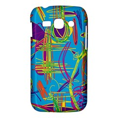 Colorful abstract pattern Samsung Galaxy Ace 3 S7272 Hardshell Case