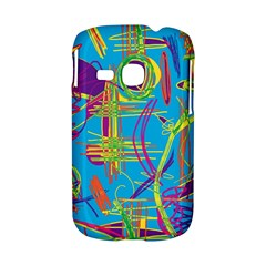 Colorful abstract pattern Samsung Galaxy S6310 Hardshell Case