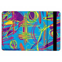 Colorful abstract pattern iPad Air Flip
