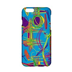 Colorful abstract pattern Apple iPhone 6/6S Hardshell Case
