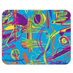 Colorful abstract pattern Double Sided Flano Blanket (Medium)