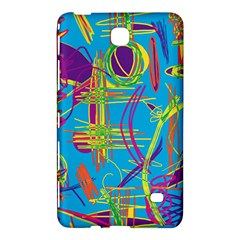 Colorful abstract pattern Samsung Galaxy Tab 4 (8 ) Hardshell Case