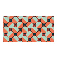 Modernist Geometric Tiles Satin Wrap