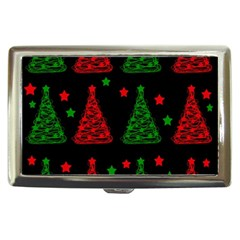 Decorative Christmas trees pattern Cigarette Money Cases