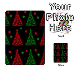 Decorative Christmas trees pattern Multi-purpose Cards (Rectangle)