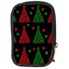 Decorative Christmas trees pattern Compact Camera Cases
