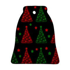 Decorative Christmas trees pattern Ornament (Bell)
