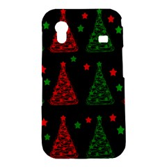 Decorative Christmas trees pattern Samsung Galaxy Ace S5830 Hardshell Case
