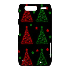 Decorative Christmas trees pattern Motorola Droid Razr XT912