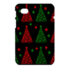 Decorative Christmas trees pattern Samsung Galaxy Tab 7  P1000 Hardshell Case