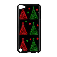 Decorative Christmas trees pattern Apple iPod Touch 5 Case (Black)