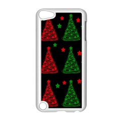 Decorative Christmas trees pattern Apple iPod Touch 5 Case (White)