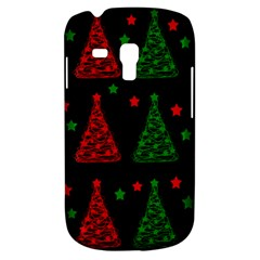 Decorative Christmas trees pattern Samsung Galaxy S3 MINI I8190 Hardshell Case