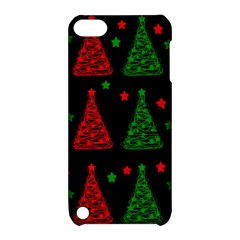 Decorative Christmas trees pattern Apple iPod Touch 5 Hardshell Case with Stand