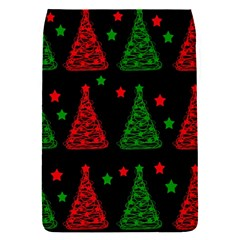 Decorative Christmas trees pattern Flap Covers (S)