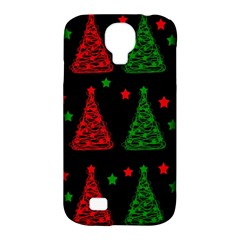 Decorative Christmas trees pattern Samsung Galaxy S4 Classic Hardshell Case (PC+Silicone)