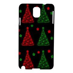 Decorative Christmas trees pattern Samsung Galaxy Note 3 N9005 Hardshell Case