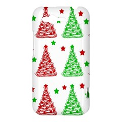 Decorative Christmas trees pattern - White HTC Rhyme