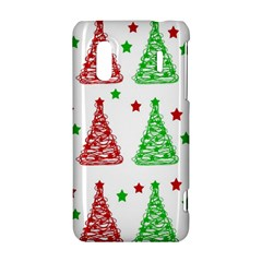 Decorative Christmas trees pattern - White HTC Evo Design 4G/ Hero S Hardshell Case