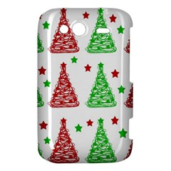 Decorative Christmas trees pattern - White HTC Wildfire S A510e Hardshell Case