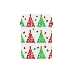 Decorative Christmas trees pattern - White Apple iPad Mini Protective Soft Cases