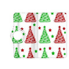 Decorative Christmas trees pattern - White Kindle Fire HDX 8.9  Flip 360 Case