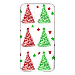 Decorative Christmas trees pattern - White Samsung Galaxy S5 Back Case (White)