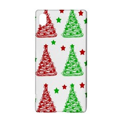 Decorative Christmas Trees Pattern   White Sony Xperia Z3+