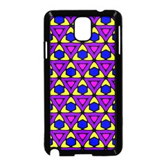 Triangles And Honeycombs Pattern                                                                                                  			samsung Galaxy Note 3 Neo Hardshell Case (black)