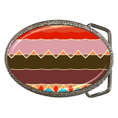 Waves And Other Shapes                                                                                                    			belt Buckle