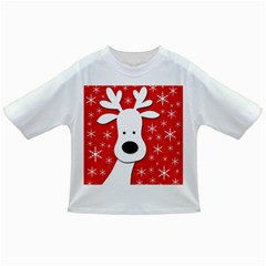 Christmas reindeer - red Infant/Toddler T-Shirts