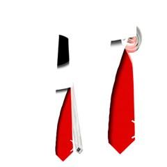 Christmas reindeer - red Neckties (Two Side)