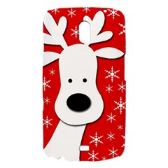 Christmas reindeer - red Samsung Galaxy Nexus i9250 Hardshell Case