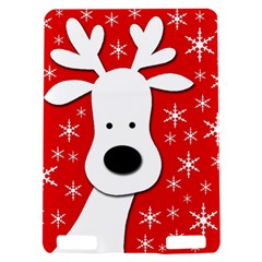 Christmas reindeer - red Kindle Touch 3G