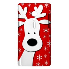 Christmas reindeer - red Sony Xperia ion