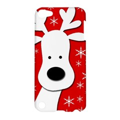 Christmas reindeer - red Apple iPod Touch 5 Hardshell Case