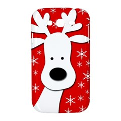 Christmas reindeer - red Samsung Galaxy Grand DUOS I9082 Hardshell Case