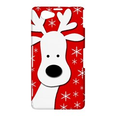 Christmas reindeer - red Sony Xperia Z1 Compact